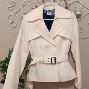 Beautiful Thick Old Navy Belted Jacket